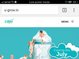 U-Grow launches its Baby Care Products in India