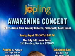 "Daisy Jopling's ""Awakening"" Concert Comes to Alice Tully Hall"