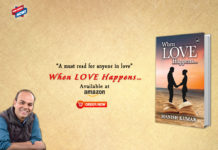"Budding Author Manish Kumar Redefines Love in his Upcoming Book ""When Love Happens…"""