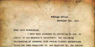 Balfour Declaration - The Worst Decision