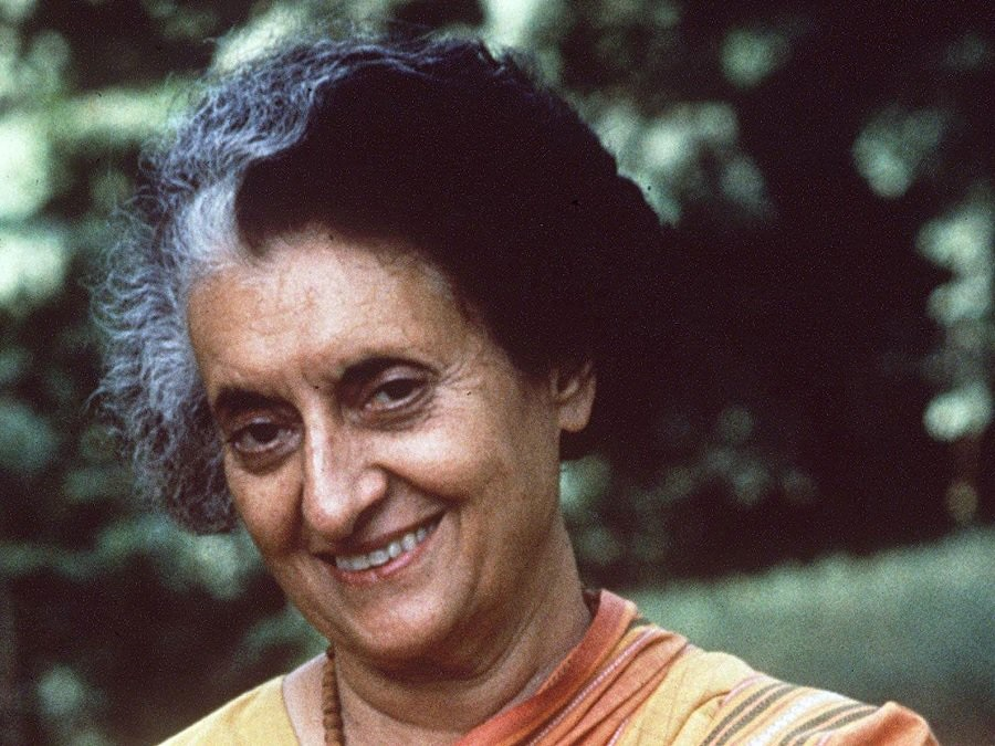 """I have never gone anywhere…."""" Indira Gandhi 