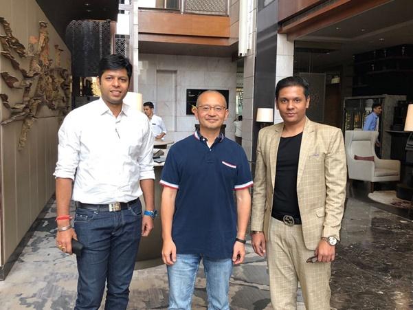 Pramod Jain Co-founder Cryptbuzz, Yale and Prashant Surana Co-founder Cryptbuzz