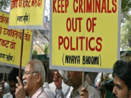 Criminal Cases filled with MPs and MLAs Awaiting Trials
