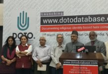 DOTO Database on Targeted Hate Violence in India Launched
