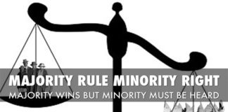 Democracy- A Minority Perspective
