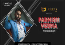 Parmish Verma Performing Live in Jokers Noida