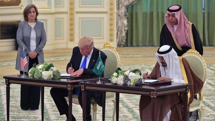 Arm Sales Gain US Far More Than Saudis