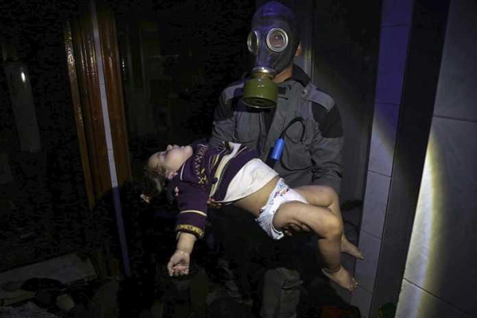 Douma's chemical attack denial
