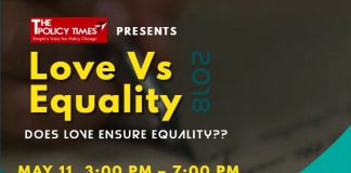 TPT & ARC Presenting Love Vs Equality