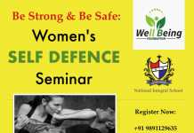 Well Being Foundation is Organizing Women's Self-defense Seminar