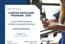RiiDL is Hosting a One-Month Startup Bootcamp Program-2018: A Bunch of Opportunities for Entrepreneurs