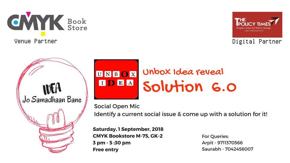 Social Open Mic on September, 01st in New Delhi