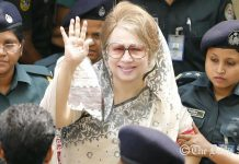 Former PM Khaleda Zia sentenced to seven years in jail
