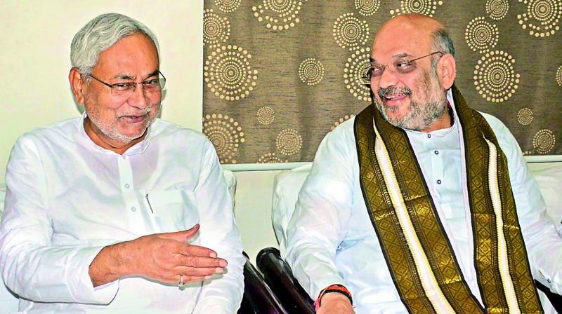 लोकसभा 2019: बीजेपी और जेडीयू में बनी सीटों पर सहमति, दोनों बराबर सीटों पर लड़ेंगे