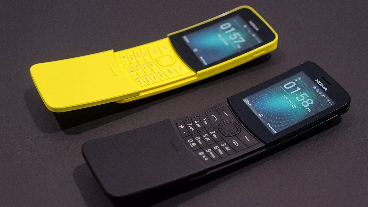 Nokia launches slider phone 'Nokia 8110'
