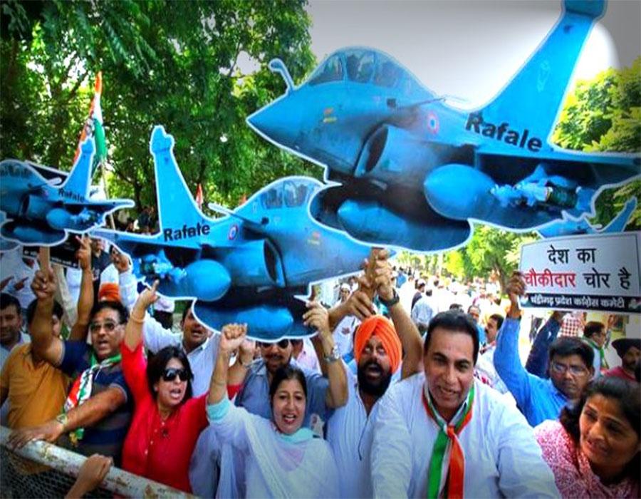 राफेल पर 'नए खुलासों के बाद चुप्पी तोड़कर देश को जवाब दें पीएम मोदी: कांग्रेस