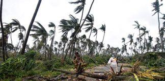 cyclone title hit odisha, havoc continue