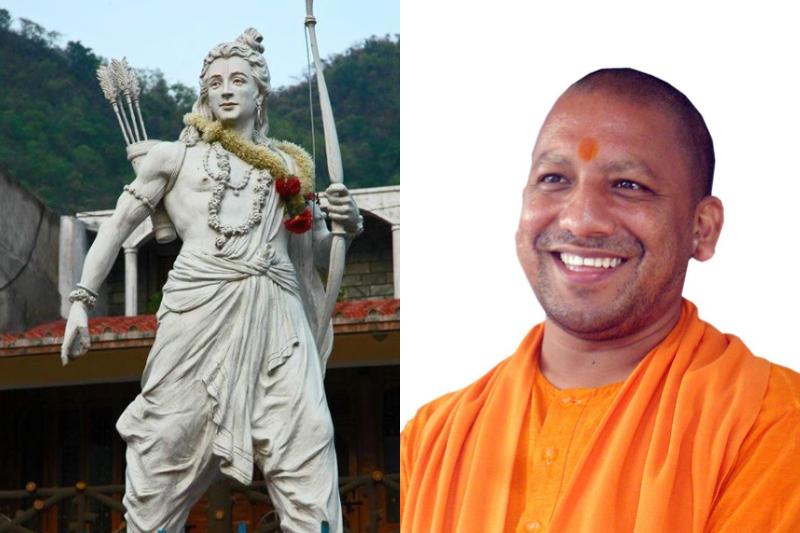 सरदार पटेल की प्रतिमा के बाद भगवान राम की प्रतिमा बनाने की योजना
