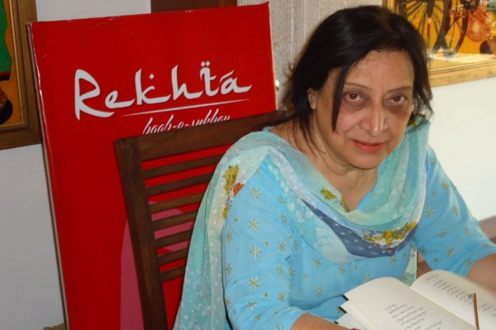 Celebrated poet Fahmida Riaz passes away