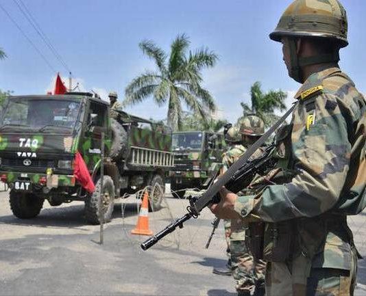 Kishtwar in J&K tense after killing of BJP leader, army stages flag march