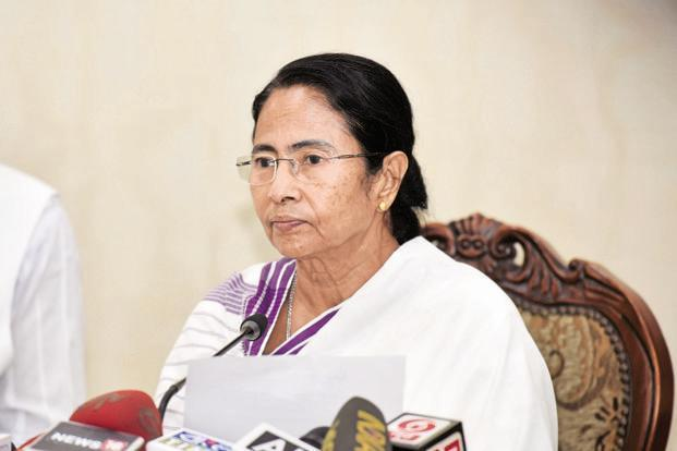 "With slogan ""BJP Bharat chhodo"", Mamata says country will be better off without BJP"