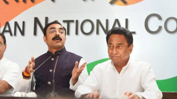 मप्र में बीजेपी को बड़ा झटका,कांग्रेस में शामिल हुए शिवराज सिंह के साले संजय सिंह मसानी