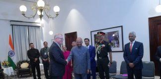 Prez Kovind meets Australian PM Morrison, signs five pacts