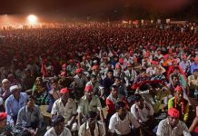 Thousands of farmers protest in Mumbai for a third time in 2018