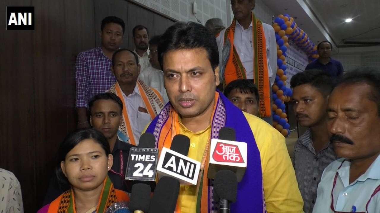 गरीबी और कुपोषण से लड़ने के लिए 10 हज़ार गाय गिफ्ट करेंगे त्रिपुरा के मुख्यमंत्री