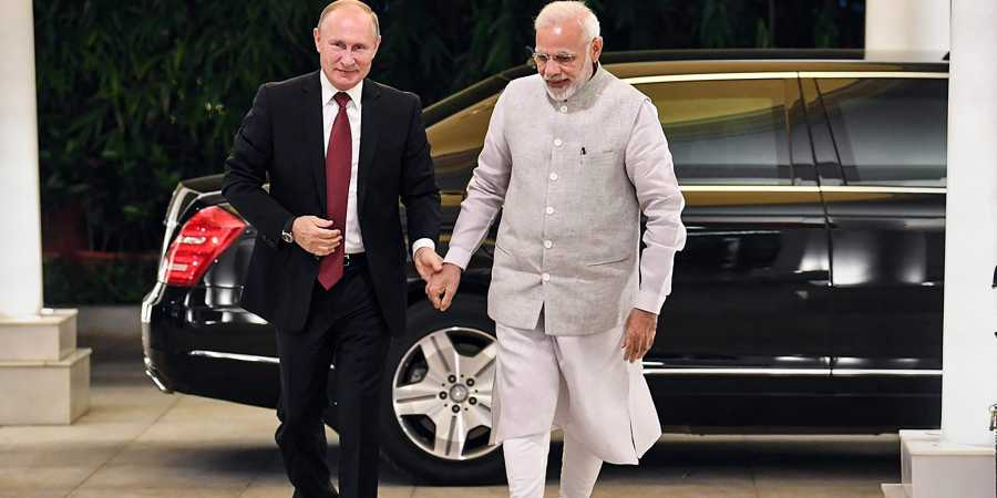 Putin greets Prez Kovind, PM Modi; says Indo-Russia relations going strong