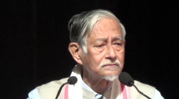 Assam: A case of treason against literary writer Hiran Gohain for comment on Citizenship Bill