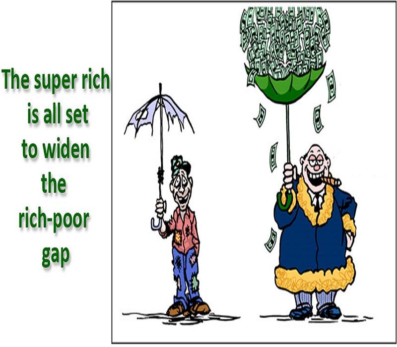 आक्सफैम ने जारी किया रिपोर्ट, भारत के 9 अमीरों के पास 50 प्रतिशत आबादी के बराबर संपत्ति
