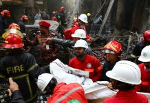 Bangladesh: 70 people die due to fire in chemical warehouse