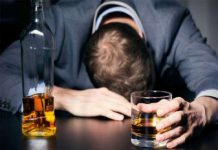 Men are 17 times more likely to drink alcohol than Women