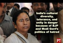 Bengal CM Mamata Banerjee speaking to media persons at Kolkata Airport before leaving for Delhi
