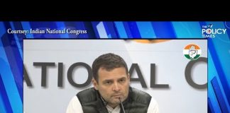 Congress President Rahul Gandhi address media | The Aim of Terrorism is to divide this country