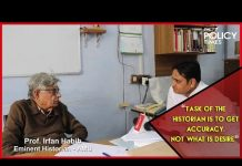 Prof. Irfan Habib I Can Government Control What History to Teach to Its People? I AMU