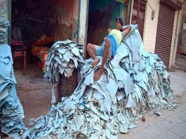 Leather industry of Kanpur is on the verge of dying