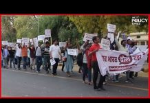 YUVA BHARAT BOL RAHA HAI   India 4 Children   Protest March