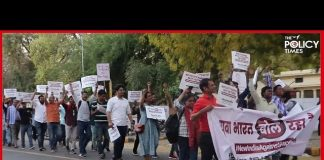 YUVA BHARAT BOL RAHA HAI | India 4 Children | Protest March