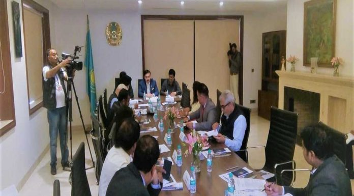 "Ambassador launched regional representative office of ""Kazakh Invest"" to Boost Indian Investments in Kazakhstan"