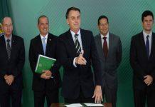 Brazil's president loosens restrictions on gun ownership.