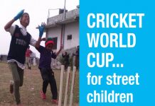 Changing perceptions, a first Street Child Cricket World Cup