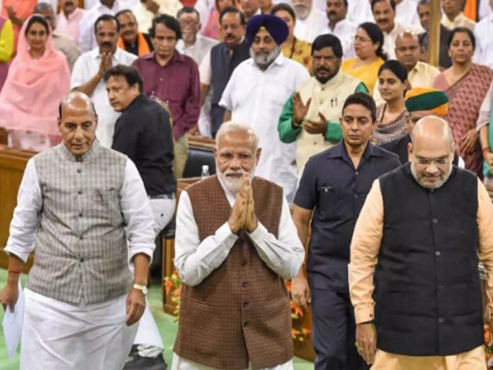 Modi Cabinet 2.0: Here, complete list of ministers' departments