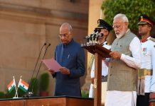 Narendra Modi takes oath as prime minister for second consecutive term