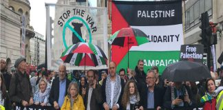 Thousands march for Palestine and demand UK to stop arming Israel