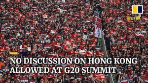 Hong Kong issue