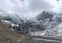 Climate change eating away Himalayan glaciers twice as fast