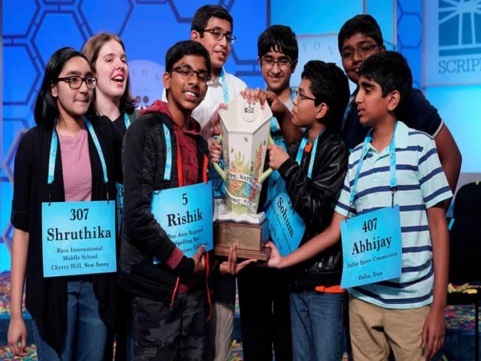 For the first time in 94 years, 7 Indian-origin students win US National Spelling Bee.