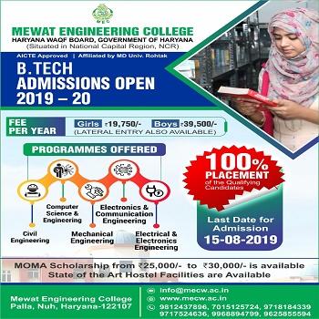 Mewat Engineering College, Haryana